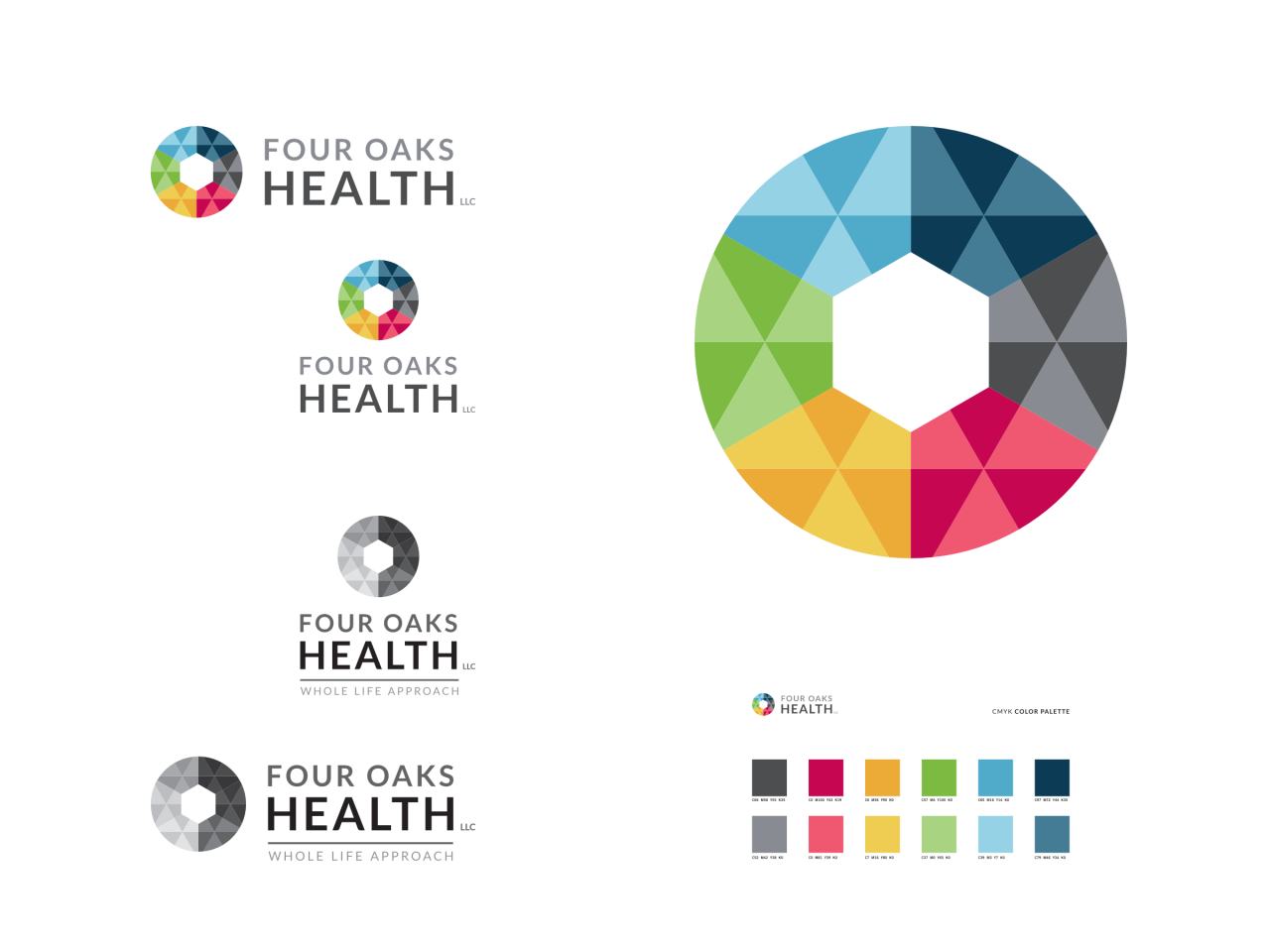 Four Oaks Health Colors