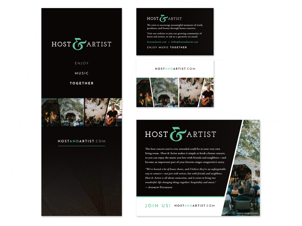 Host Artist Banners Cards 1